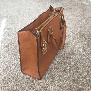 ALDO Brown Faux Leather Handbag